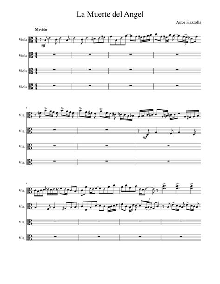 Angel Peak Suite  music sheet