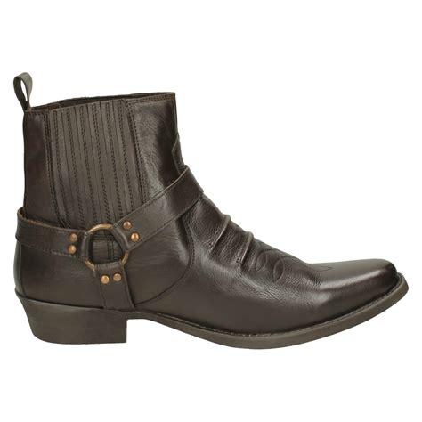 ankle cowboy boots men eBay