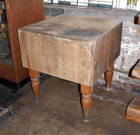 antique butcher block tables eBay