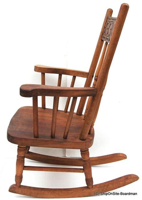 antique childs rocking chair eBay