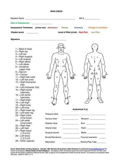 free download ebooks Arm Diagram Skin Assessment Form