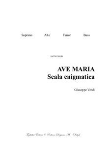 Ave Maria De Victoria Pdf File With Embedded Mp3 Files Of The Individual Parts  music sheet