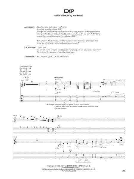 Axis  music sheet