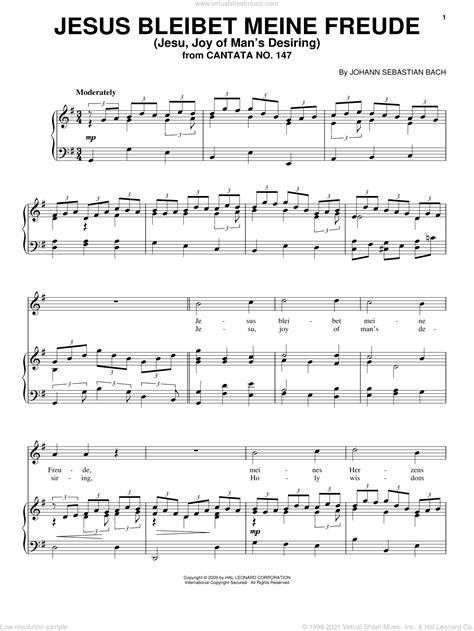 Bach Jesus Bleibet Meine Freude For Flute Violin And Cello  music sheet