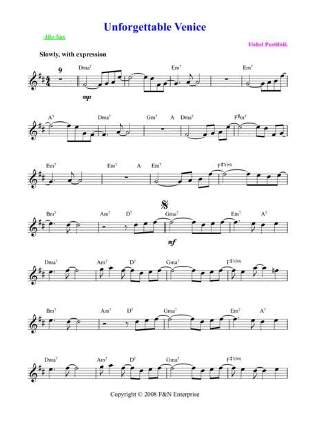 Background For Gambler For Alto Sax  music sheet