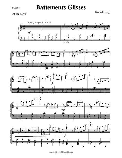 Ballet Music  music sheet