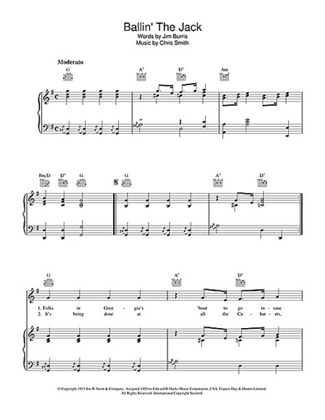 Ballin The Jack Tenor Learning Track  music sheet