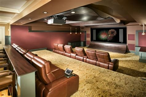 Basement Home Theater Design Ideas