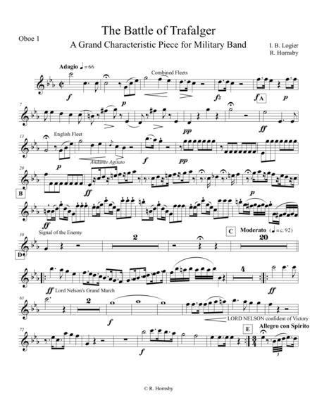 Battle Of Trafalgar Parts  music sheet