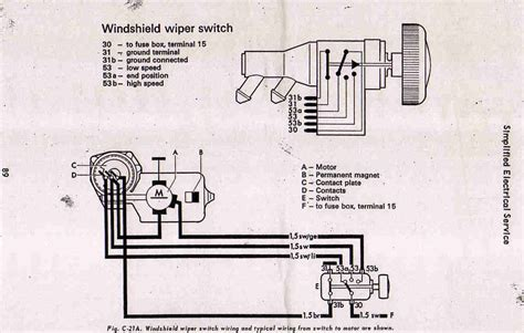 free download ebooks Beetle 1968 Wiper Switch Wiring Diagram