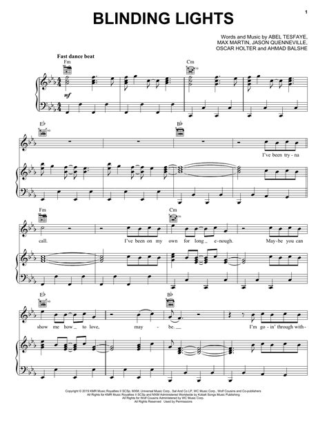 Blinding Lights By The Weeknd Solo Fingerstyle Guitar Tab  music sheet