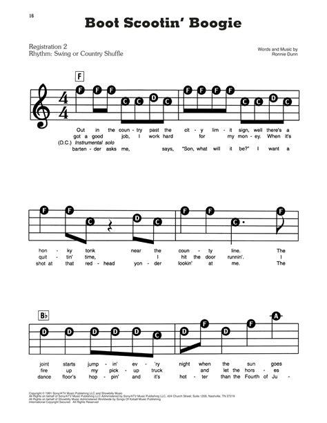 Boogie Lickipedia  music sheet