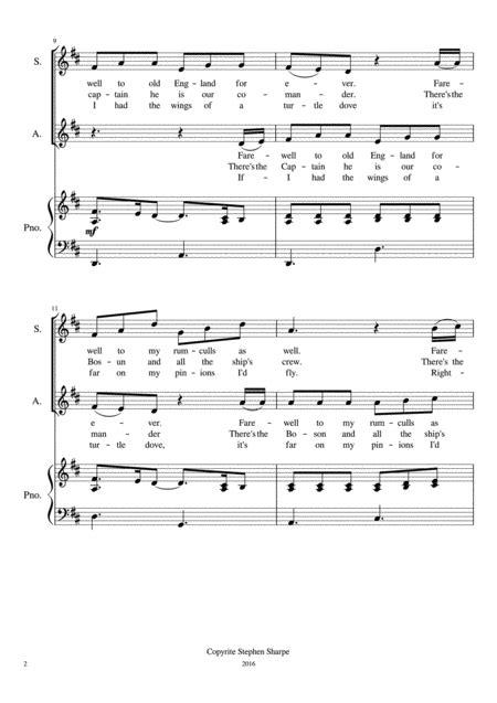 Botany Bay Sa  music sheet