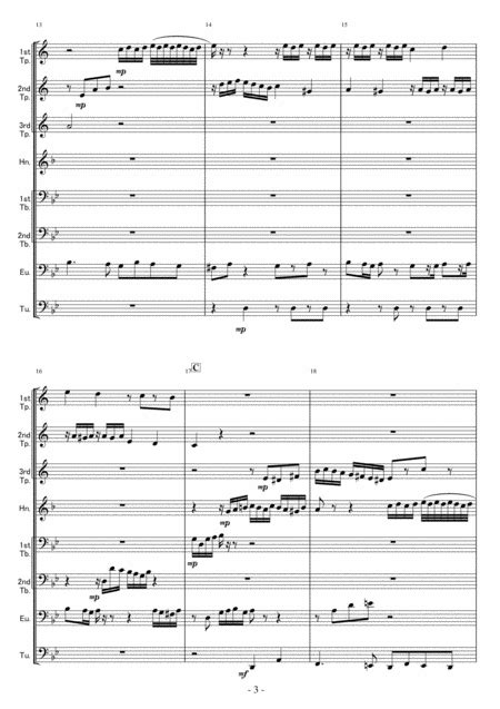Brass Octet Fuga In G Minor Bwv578  music sheet