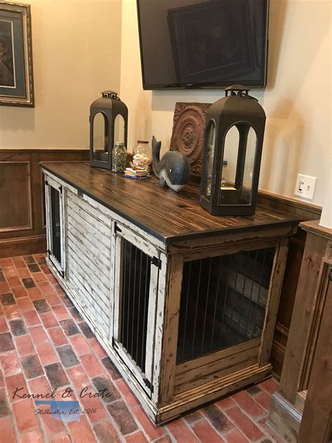 built in dog crate Home Pinterest Dog crate Crates