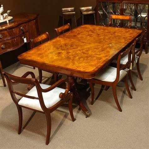 burl wood dining table eBay