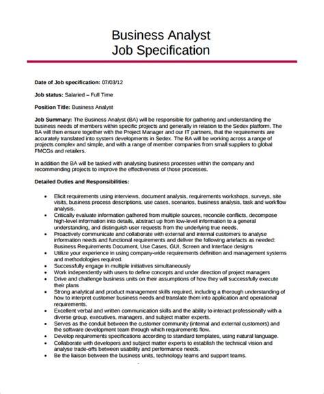 business analyst job description Buzzle