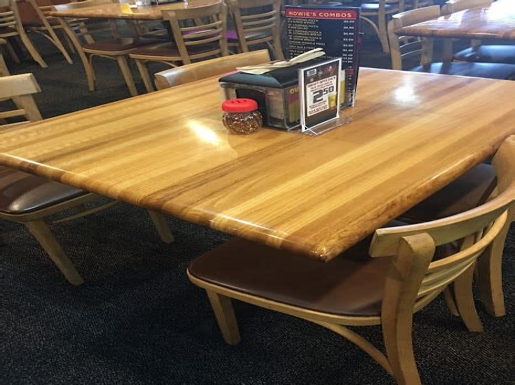 butcher block dining table eBay