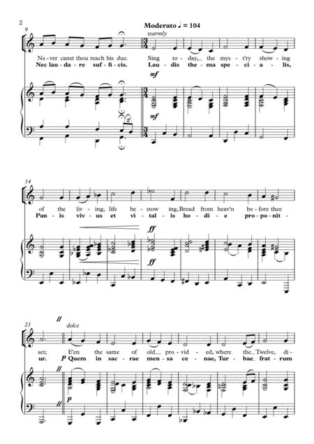 Canite Tuba In Sion J Handl For Ssabarb Choir  music sheet