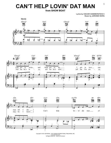 Cant Help Lovin Dat Man Of Mine Violin 2  music sheet