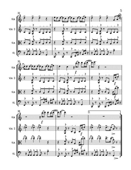 Cant Stop The Feeling From Trolls String Trio Optional Vln2 Or Vla  music sheet
