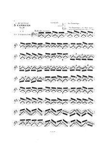 Caprice Op 36  music sheet