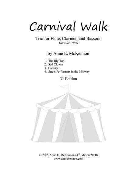 Carnival Walk Ob Cl Bsn  music sheet
