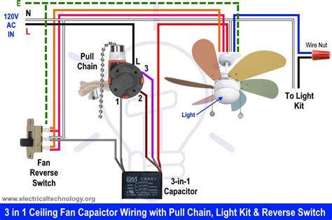 free download ebooks Ceiling Fan Reverse Switch Wiring Diagram Capacitor