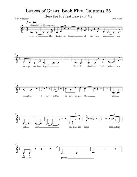 Chanamus  music sheet