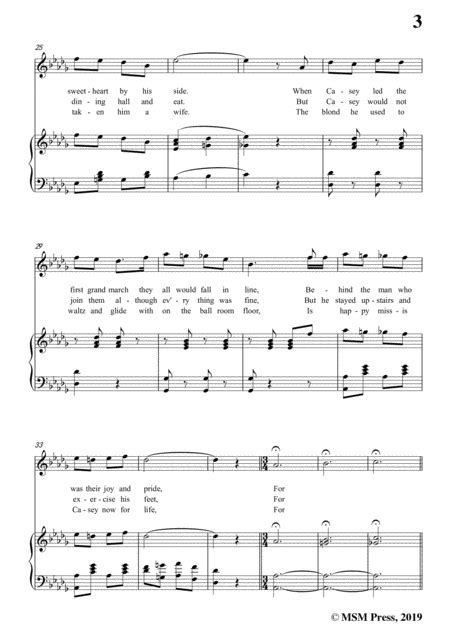 Charles B Ward Band Played On In A Flat Major For Voice Piano  music sheet