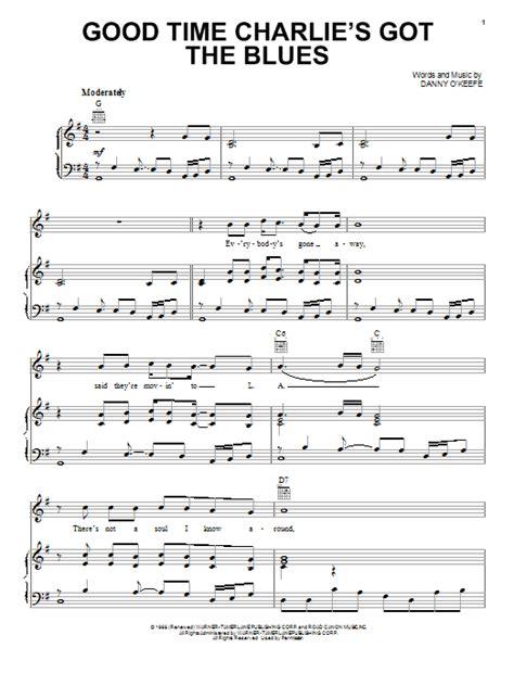 charlies blues music sheet