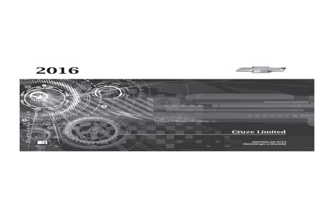 free download ebooks Chevrolet Cruze Owners Manual.pdf