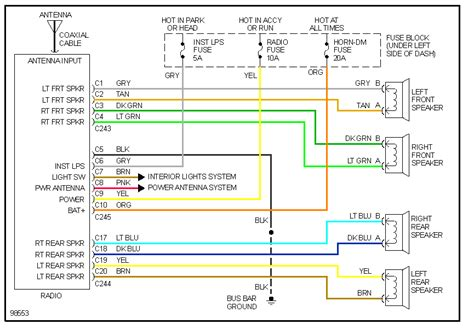 free download ebooks Chevy Factory Radio Wiring Diagram