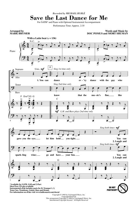 Chorale And Dance music sheet
