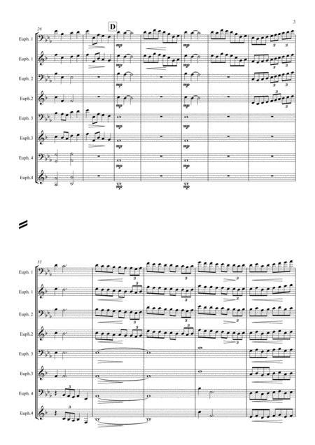 Chorale And Hymn By Derick Kane For Euphonium Quartet  music sheet