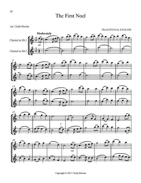 Christmas Duets For Violin And Clarinet Volume Two  music sheet