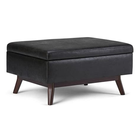 coffee table storage ottoman Target