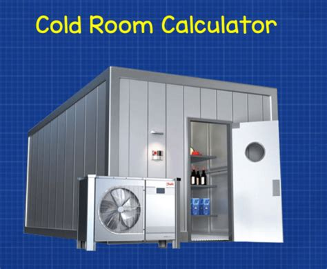 coldroom software Coldroom Design Software From