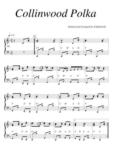 Collinwood Polka  music sheet