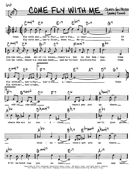 Come Fly With Me Drum Set  music sheet