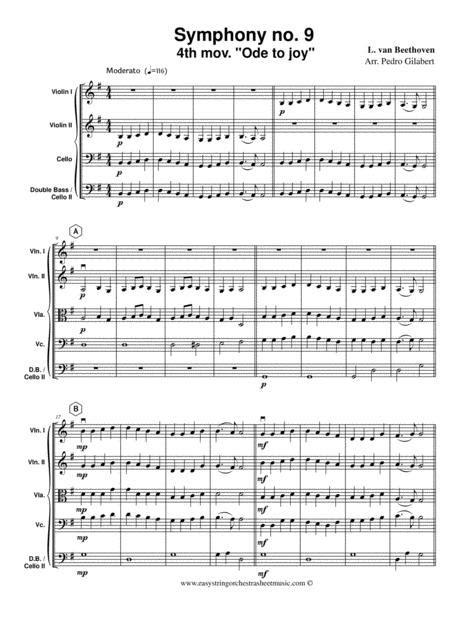 Concerto No 9 Boston Concerto Orchestra Score music sheet