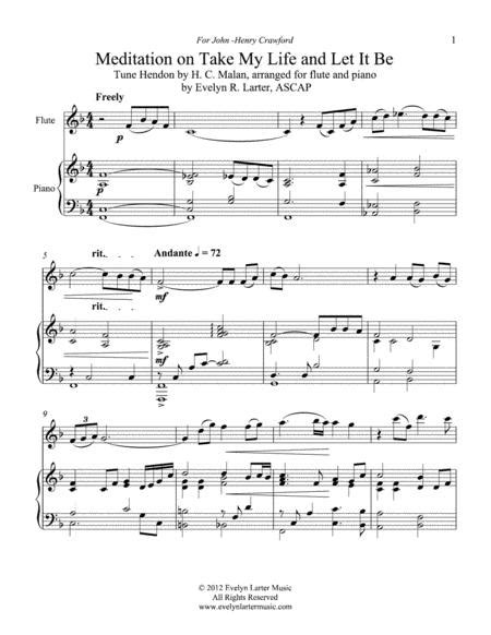 Consecration Seven Hymn Arrangements For Flute And Piano  music sheet