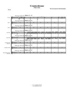 Creaturehouse Flute Choir  music sheet