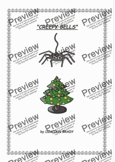Creepy Bells Guitar Duet Ensemble  music sheet