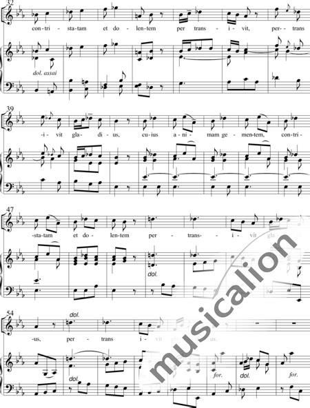 Cuius Nimam Gemntem  music sheet