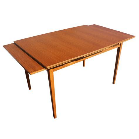 danish modern teak dining table eBay