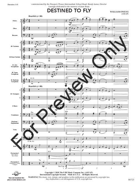 Destined To Fall  music sheet