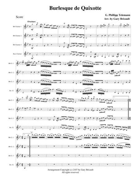 Devils Burlesque  music sheet