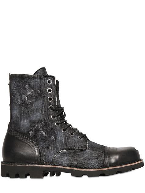 diesel boots mens eBay