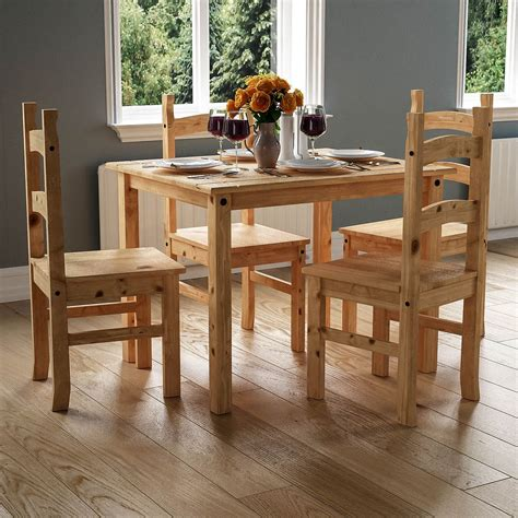 dining table 4 chairs set eBay